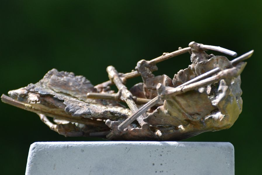 Gestandet, Bronze, 21x7x8cm