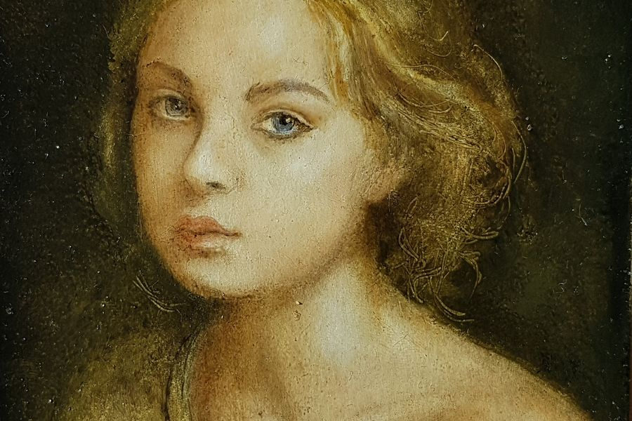 Juli (Ausschnitt), Ölmalerei, 12x16cm