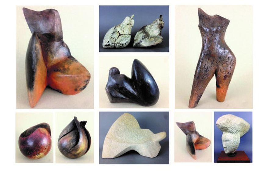 Werkgruppe, Arbeiten in Keramik und Sandstein