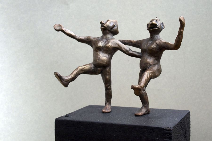 PasDeDeux, Bronze, h15cm
